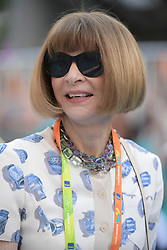 March 22, 2019 - Miami Gardens, Florida, United States Of America - MIAMI GARDENS, FLORIDA - MARCH 22:  Anna Wintour on Day 5 of the Miami Open Presented by Itau at Hard Rock Stadium on March 22, 2019 in Miami Gardens, Florida..People: Anna Wintour. (Credit Image: © SMG via ZUMA Wire)