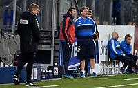 Fotball , 13. mars 2016 ,  Tippeligaen , Eliteserien ,<br /> Strømsgodset - Brann 2-2<br /> trener Bjørn Petter Ingebretsen , SIF<br /> Thomas Andre Ødegaard ,