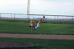 22 April 2019:   Dee Mack Chiefs at Le Roy Panthers boys baseball at baseball diamond in Le Roy Il<br /> <br /> (Photo by Alan Look
