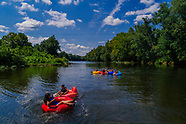 James River tubing canoe kayak
