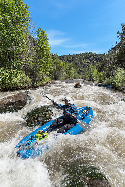 Paddling the Donner and Blitzen River in Southeastern Oregon.