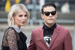 Rami Malek and Lucy Boynton arriving at Miu Miu fashion show Paris during the Paris fashion week in Paris, France on March 06, 2017. Photo by Nasser Berzane/ABACAPRESS.COM