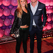NLD/Amsterdam/20120330 - Emma Raising Fund Night, Chantal Bles en partner Robert Doornbos