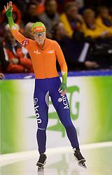 08-03-2013 SCHAATSEN: FINAL ISU WORLD CUP: HEERENVEEN<br /> NED, Speedskating Final World Cup Thialf Heerenveen / Laurine van Riessen op de 500 meter<br /> ©2013-FotoHoogendoorn.nl
