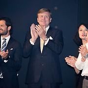 NLD/Scheveningen/20180630 - Koning bij Award Diner Volvo Ocean Race, Koning Willem Alexander en Prins Carl Philip