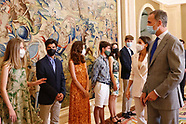071321 Spanish Royals attends an audience the Spanish Committee of United World Colleges Foundation
