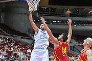 Danzica - Polonia 04 Agosto 2012 - TORNEO INTERNAZIONALE SOPOT CUP - Italia Montenegro<br /> Nella Foto : LUIGI DATOME<br /> Foto Ciamillo