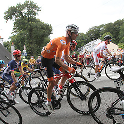 26-08-2020: Wielrennen: EK wielrennen: Plouay<br /> Pieter Weening26-08-2020: Wielrennen: EK wielrennen: Plouay