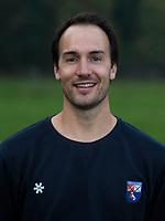 BLOEMENDAAL -  assistent coach Karel Klaver,    Heren I, seizoen 217-2018. COPYRIGHT KOEN SUYK