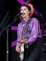 Lucia Fontaine performing at Party At The Palace Music Festival in Linlithgow Palace grounds on Sat 13th August 2016.<br /> <br /> <br /> Alan Rennie/ EEm