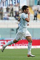 Fotball<br /> Italia Serie A<br /> Foto: Inside/Digitalsport<br /> NORWAY ONLY<br /> <br /> Luis Jimenez (Lazio) celebrates after scoring <br /> <br /> 6 May 2007 (Match Day 35)<br /> <br /> Lazio v Livorno (1-0)