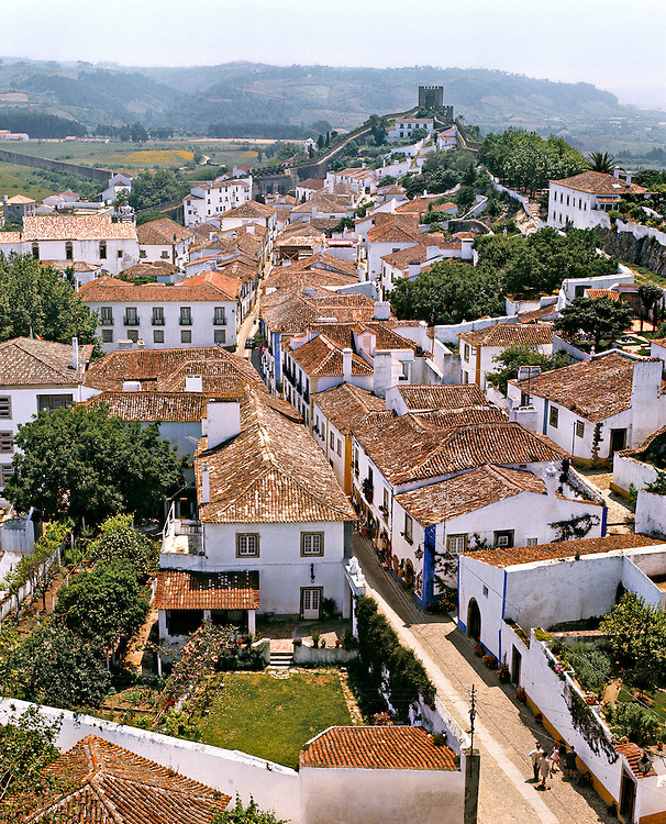 """Obidos, """"The Wedding City"""", was the bridal gift of Portuguese kings to their queens."""