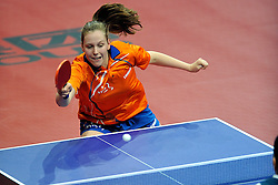 09-05-2011 TAFELTENNIS: WORLD TABLE TENNIS CHAMPIONSHIPS: ROTTERDAM<br /> Suzanne Dieker<br /> ©2011-FotoHoogendoorn.nl