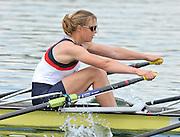 Caversham, Great Britain.  GBR W2X, bow. Anna WATKINS [BEBINGTON]. GB Rowing media day, GB Rowing Training Centre, Caversham. Tuesday,  18/05/2010 [Mandatory Credit. Peter Spurrier/Intersport Images]