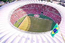 Estádio Beira-Rio visto de cima. O estádio Beira Rio receberá os jogos da Copa do Mundo de Futebol 2014. FOTO: Jefferson Bernardes/ Agência Preview