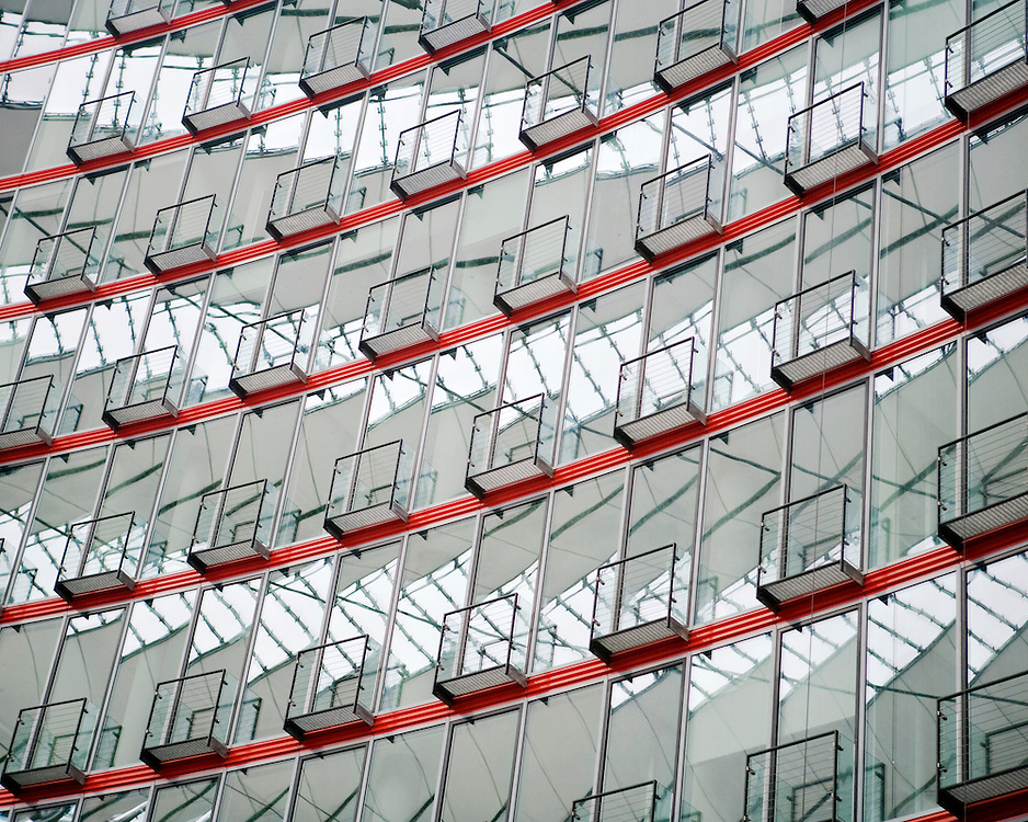 Reflections on a modern Building