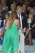 Henley, GREAT BRITAIN. [The Princess Grace Challenge Cup (W4x)]  AUS. collect their Prize from The Rt. Hon. The Lord Mayor of London. Alderman David WOTTON  at 2012 Henley Royal Regatta...Sunday  17:57:12  01/07/2012. [Mandatory Credit, Peter Spurrier/Intersport-images]...Rowing Courses, Henley Reach, Henley, ENGLAND . HRR.