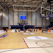 NLD/Rotterdam/20190706 - BN'ers spelen rolstoelbasketbal tijdens EK rolstoelbasketbal vrouwen, overizcht zaal