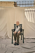 Mrs. Antonia Ortega, born on 06/25/1931 in the town of Iznalloz (Granada), Spain. She suffers from Alzheimer's disease, pictured at the Gure Etxea residence in Barcelona, Spain, on June 11, 2020. At 87 he has survived many conflicts, from the Spanish civil war, the postwar period, the famine and now the pandemic. She went through the Covid-19 disease and overcame it