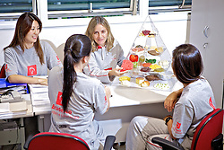 Nutricionista no ADC Bradesco Esporte e Educação, em Osasco. FOTO: Jefferson Bernardes/Preview.com