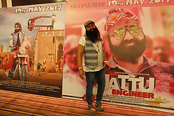 May 15, 2017 - India - Gurmeet Ram Rahim Singh, an Indian spiritual leader, social reformer, actor, director and singer film promotion in New Delhi. (Credit Image: © Ravi Prakash/Pacific Press via ZUMA Wire)