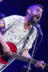 July 18, 2017 - Cartagina, Region of Murcia, Spain - Australian singer, Scott Matthew during his performance at La Mar de Musicas Festival. (Credit Image: © Abel F. Ros/Pacific Press via ZUMA Wire)