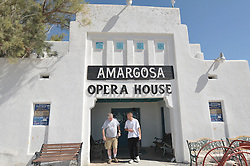 Amargosa Opera House, Death Valley Junction, California. Interiors and Exteriors of this unique and special architecural and cultural treasure. Restored as a performance space by Marta Becket in 1968. Part of the Hotel Complex originally built as a mining housing project in 1923-25. Live Theater continues here with Marta performing shows on occasion.