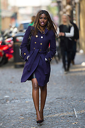 © Licensed to London News Pictures. 12/10/2015. London, UK. JUNE SARPONG arriving at the event. The launch of the Britain Stronger in Europe campaign at the Truman Building in London. The campaign is being by led by Former M&S chairman, Lord Stuart Rose. Photo credit: Ben Cawthra/LNP