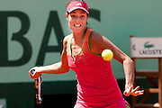 Roland Garros 2011. Paris, France. May 24th 2011..Serbian player Ana IVANOVIC against Johanna LARSSON