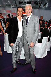 Left to right, ANDRE PORTASIO and PAUL O'GRADY at the 2008 Glamour Women of the Year Awards 2008 held in the Berkeley Square Gardens, London on 3rd June 2008.<br /><br />NON EXCLUSIVE - WORLD RIGHTS