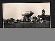 Flying saucer failure, East London.