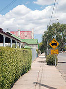 Town of Quorn in the Flinders Ranges, South Australia, Asutralia