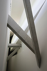 Interior architecture of the Jewish Museum in Kreuzberg Berlin Germany