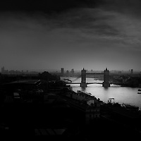 An infrared shot from the top of Monument during the smog of a couple of weeks ago. Was hoping for a Zeppelin to come into view but none appeared. Couldnt use a tripod and had to press the lens up against the wire mesh, so not as sharp as I would like but needs must.