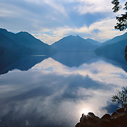 Lovely Lake Crescent in Olympic National Park, WA.