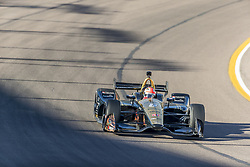 February 9, 2018 - Avondale, Arizona, United States of America - February 09, 2018 - Avondale, Arizona, USA:  James Hinchcliffe (5)takes his IndyCar Verizon car through the turns during the Prix View at ISM Raceway in Avondale, Arizona. (Credit Image: © Walter G Arce Sr Asp Inc/ASP via ZUMA Wire)