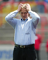 Jšrn ANDERSEN Fu§balltrainer Rot-Wei§ Oberhausen<br /> 2.Bundesliga Rot-Wei§ Oberhausen - VfL OsnabrŸck