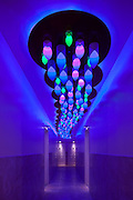 'Cloud', an interactive lighting display, custom-designed by Focus Lighting