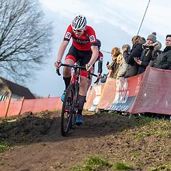 11-01-2020: Wielrennen: NK Veldrijden: Rucphen<br />Mees Steenbergen