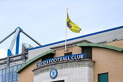 General View of the Premier League flag flying high above Stamford Bridge - Rogan Thomson/JMP - 21/05/2017 - FOOTBALL - Stamford Bridge - London, England - Chelsea v Sunderland - Premier League..