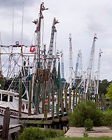 Shrimp boat by the Dock,  McClellanville, South Carolina photo by catherine brown