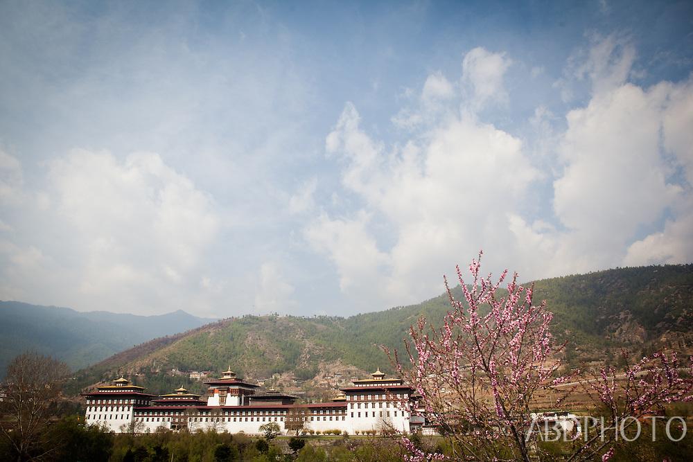thimphu royal palace Bhutan Asia Thimphu, Bhutan