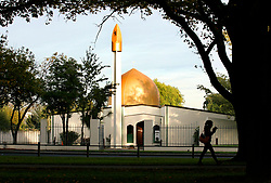 March 15, 2019 - Christchurch, Canterbury, New Zealand - FILE - Masjid Al Noor Mosque on Deans Avenue, the scene of a mass shooting, Christchurch. At least 49 people were killed and 20 seriously injured in mass shootings at two mosques in the New Zealand city of Christchurch. 48 people, including young children with gunshot wounds, were taken to hospital. Three people were arrested in connection with the shootings. (Credit Image: © Martin Hunter/SNPA via ZUMA Wire)
