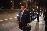 Conservative Party Black and White Ball fundraiser 2015, Grosvenor House. Park Lane, London. 9 February 2015