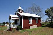 Pu'uanahulu Church, Waimea (aka Kamuela), Big Island, Hawaii