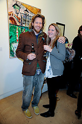 HENRY BRUDENELL-BRUCE and FABIA HORSLEY at a Pop Up exhibition of Fine Art held at the Broadbent Gallery, 25 Chepstow Corner, Chepstow Place, London W2 on 7th December 2010.