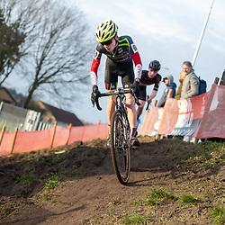 11-01-2020: Wielrennen: NK Veldrijden: Rucphen <br />Colin Strik