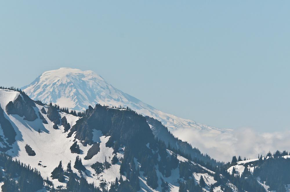 Sunrise area of Mount Rainier National Park, Washington.  Photo by William Byrne Drumm.