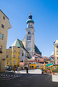 Austria, Hall in Tirol Nikolauskirche, St. Nicholas Church