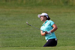 June 17, 2018 - Belmont, Michigan, United States - Sei Young Kim of Republic of Korea follows her shot to the first green during the final round of the Meijer LPGA Classic golf tournament at Blythefield Country Club in Belmont, MI, USA  Sunday, June 17, 2018. (Credit Image: © Amy Lemus/NurPhoto via ZUMA Press)